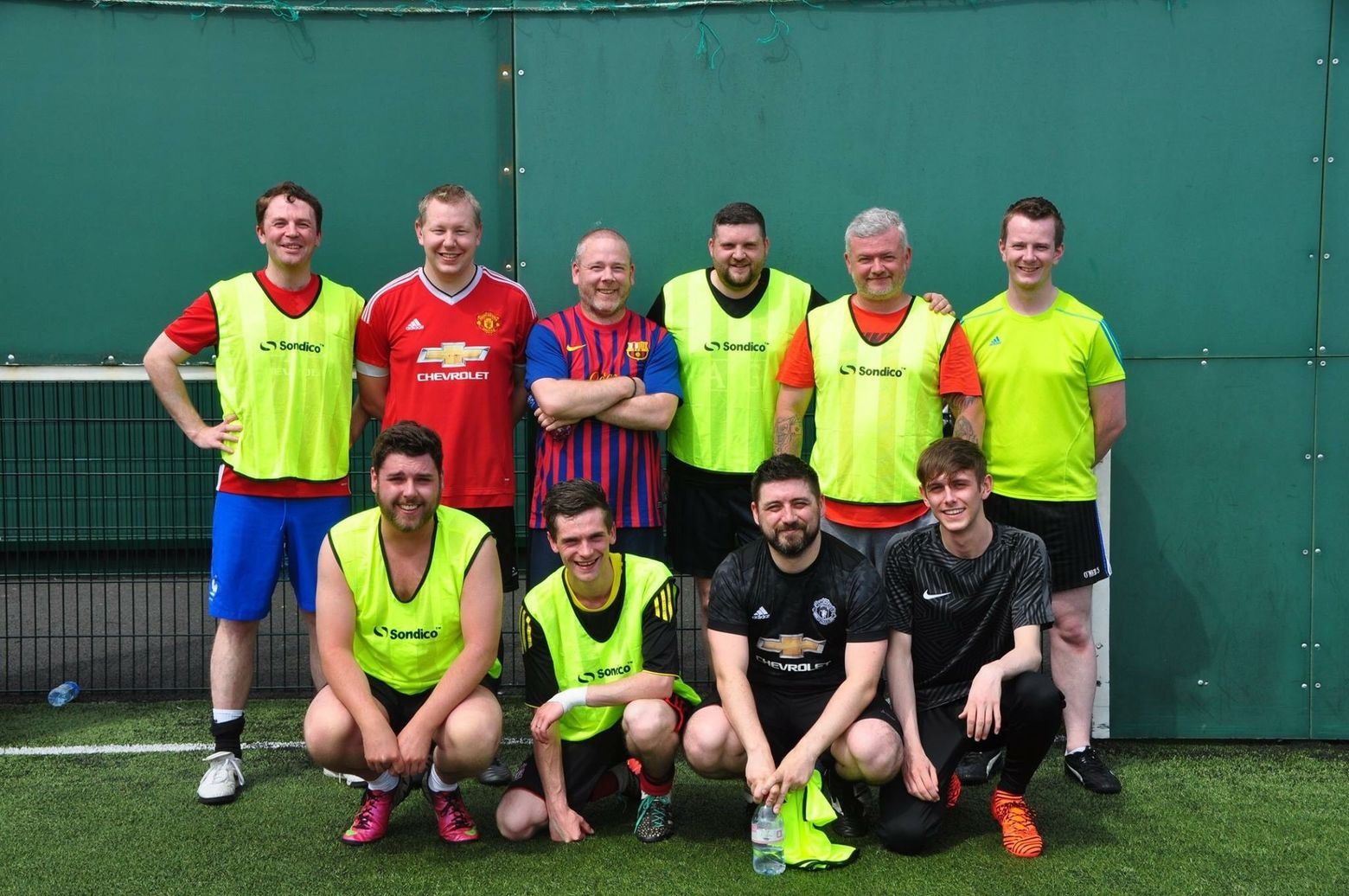 Team Nitec Takes Part in Football Fundraiser - Image