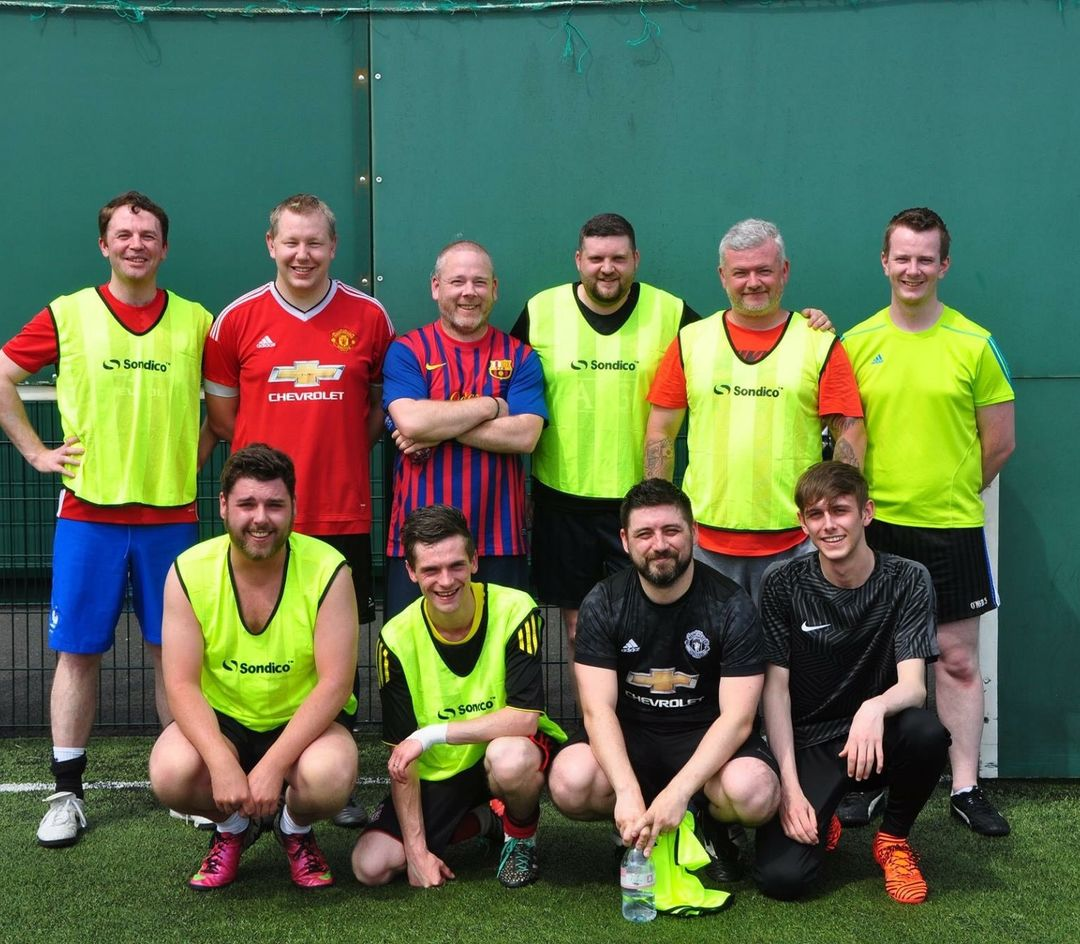 Team Nitec Takes Part in Football Fundraiser - Featured Image